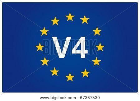 V4 Eu Flag