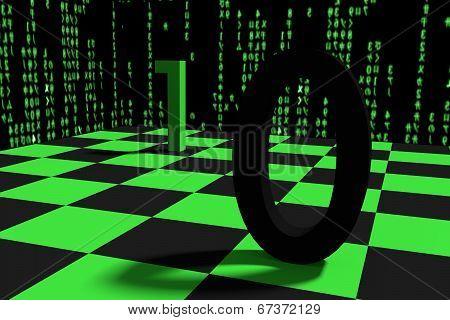 Byte chessboard