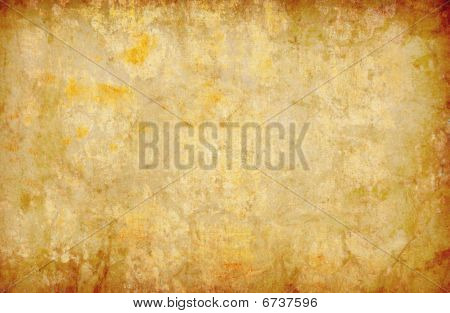 Grunge Yellow Abstract Background Texture