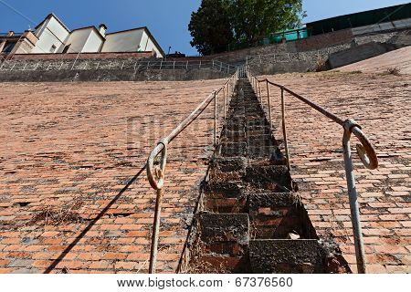 Very Steep Staircase