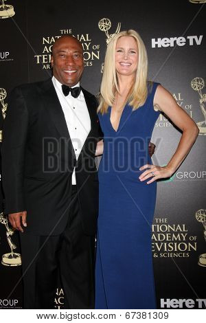 LOS ANGELES - JUN 22:  Byron Allen at the 2014 Daytime Emmy Awards Arrivals at the Beverly Hilton Hotel on June 22, 2014 in Beverly Hills, CA