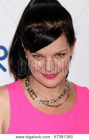 LOS ANGELES - JUN 24:  Pauley Perrette at the 5th Annual Thirst Gala at the Beverly Hilton Hotel on June 24, 2014 in Beverly Hills, CA