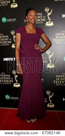 LOS ANGELES - JUN 22:  Aisha Tyler at the 2014 Daytime Emmy Awards Arrivals at the Beverly Hilton Hotel on June 22, 2014 in Beverly Hills, CA