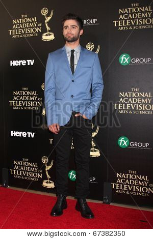 LOS ANGELES - JUN 22:  Max Erlich at the 2014 Daytime Emmy Awards Arrivals at the Beverly Hilton Hotel on June 22, 2014 in Beverly Hills, CA