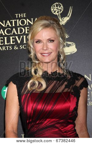 LOS ANGELES - JUN 22:  Katherine Kelly Lang at the 2014 Daytime Emmy Awards Arrivals at the Beverly Hilton Hotel on June 22, 2014 in Beverly Hills, CA