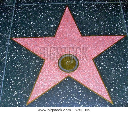 Hollywood BlVD Star