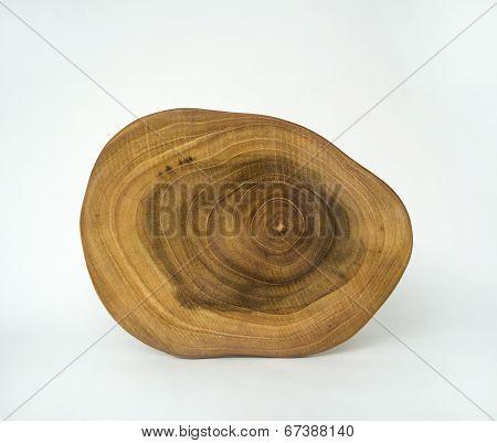 Cross Section Wood Grain Tree Rings