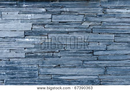 Modern Pattern Of Bule Stone Wall Decorative Surfaces