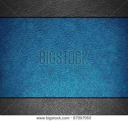 Blue and gray leather texture background