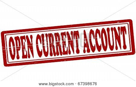 Open Current Account