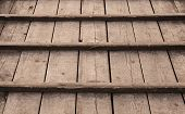 picture of uncolored  - Uncolored old wooden floor background photo texture - JPG