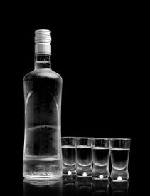 image of vodka  - Close - JPG