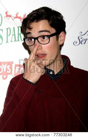 LOS ANGELES - NOV 30:  Joey Bragg at the 2014 Hollywood Christmas Parade at the Hollywood Boulevard on November 30, 2014 in Los Angeles, CA
