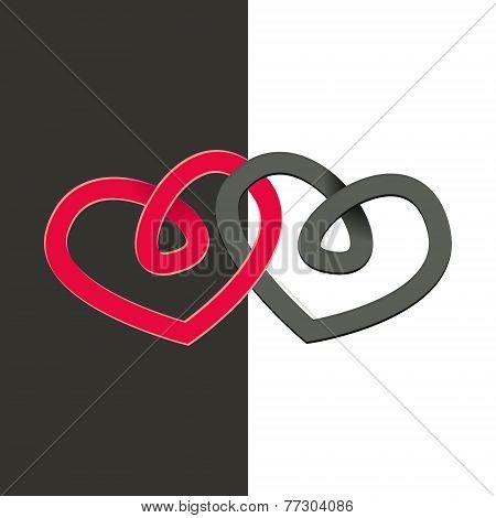 2 Heart-emblem