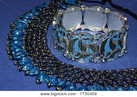 fancy plastic necklace