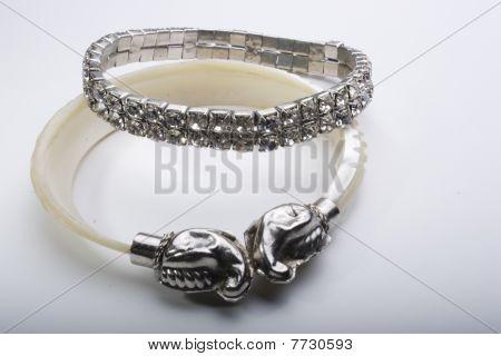 fancy hand bracelet