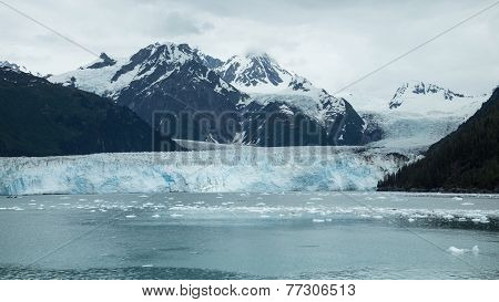 View of Meares Glacier