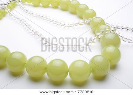 green colored plastic