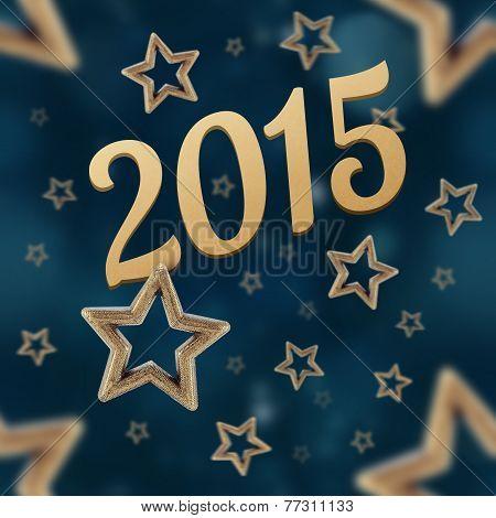 2015 On The Night Stars Seamless Pattern