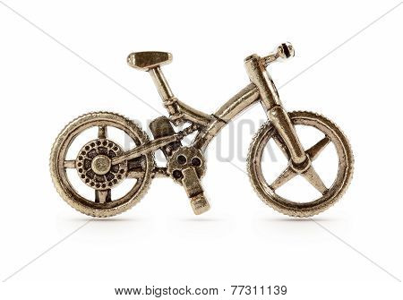 Bronze Bicycle Symbol