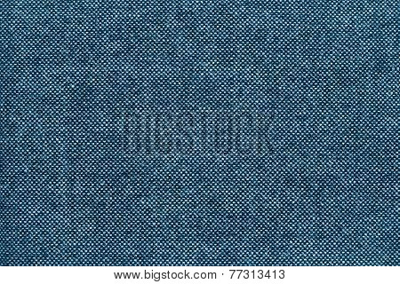 Texture Of Checkered Fabric With Blue Specks