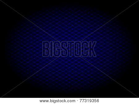 llustration - background of blue laser grid
