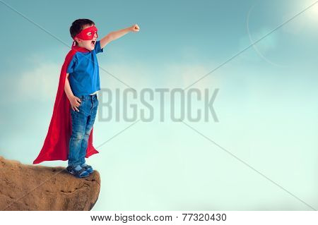 Superhero Child