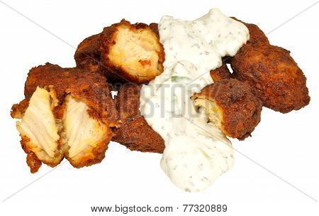 Chicken Tikka Pakoras