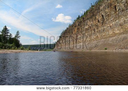 Cliff  On  Chulman River