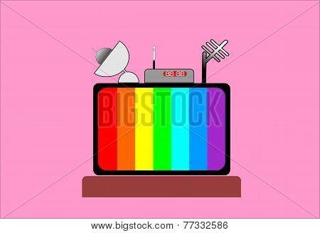 color of television