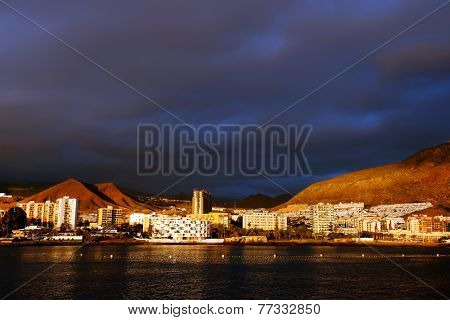 Los Cristianos in Tenerife, Canary Islands, Spain