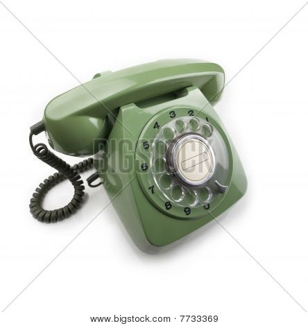Green Dial Telephone