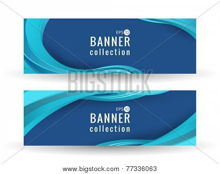 Site wave abstract smooth curve lines background for advertising banner