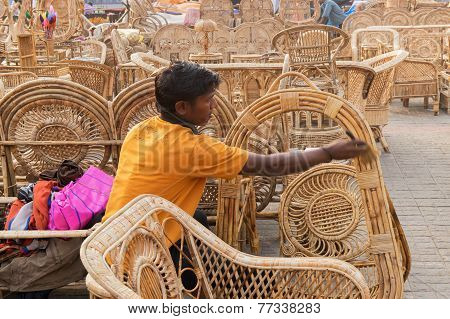 Cane Furnitures, Indian Handicrafts Fair