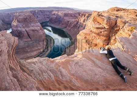 Photographing Horse Shoe Bend