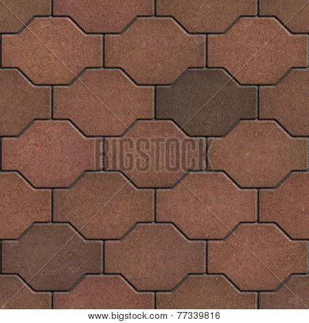 Decorative Brown Brick Pavers.