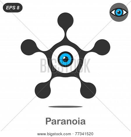 Paranoia Concept Icons