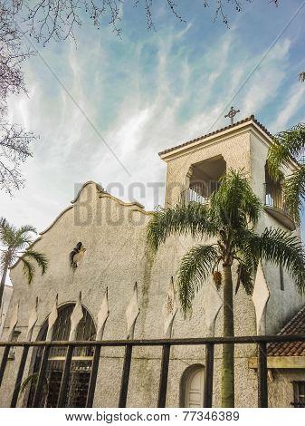 White Chapel Low Angel View