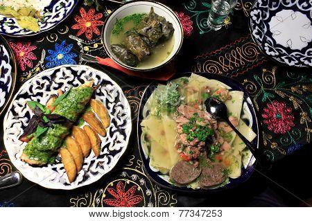 National Uzbek Food