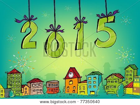 2015 New Year Concept artwork