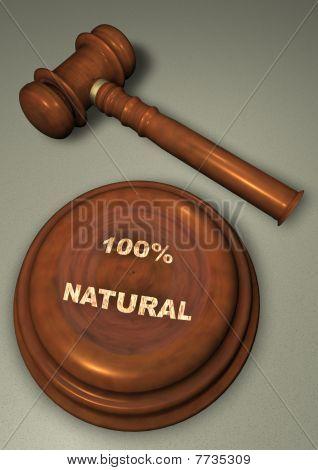 Martillo con 100% NATURAL