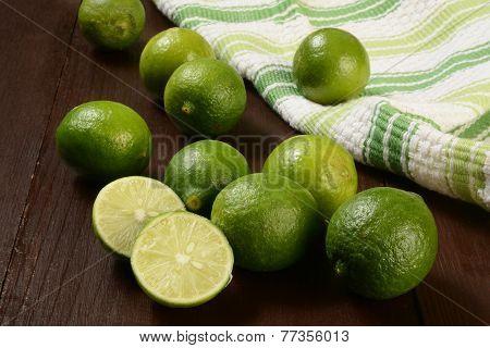 Organic Key Limes
