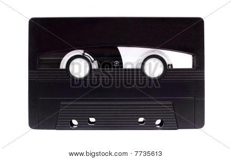 Chrome Cassette Isolated