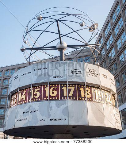 World Clock on Alexanderplatz