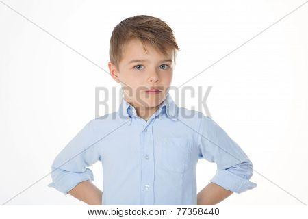Little Boy Staring