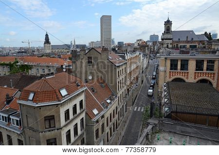 Skyline Of Brussels, Belgium