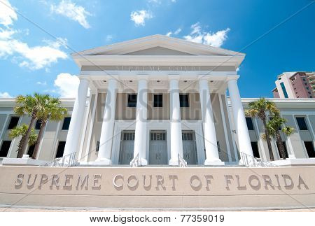Supreme Court of Florida Exterior