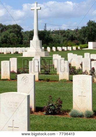 War Graves at Souda Bay