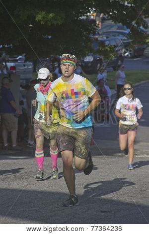 Color Run Final Stretch