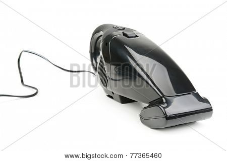 car vacuum cleaner isolated on white background